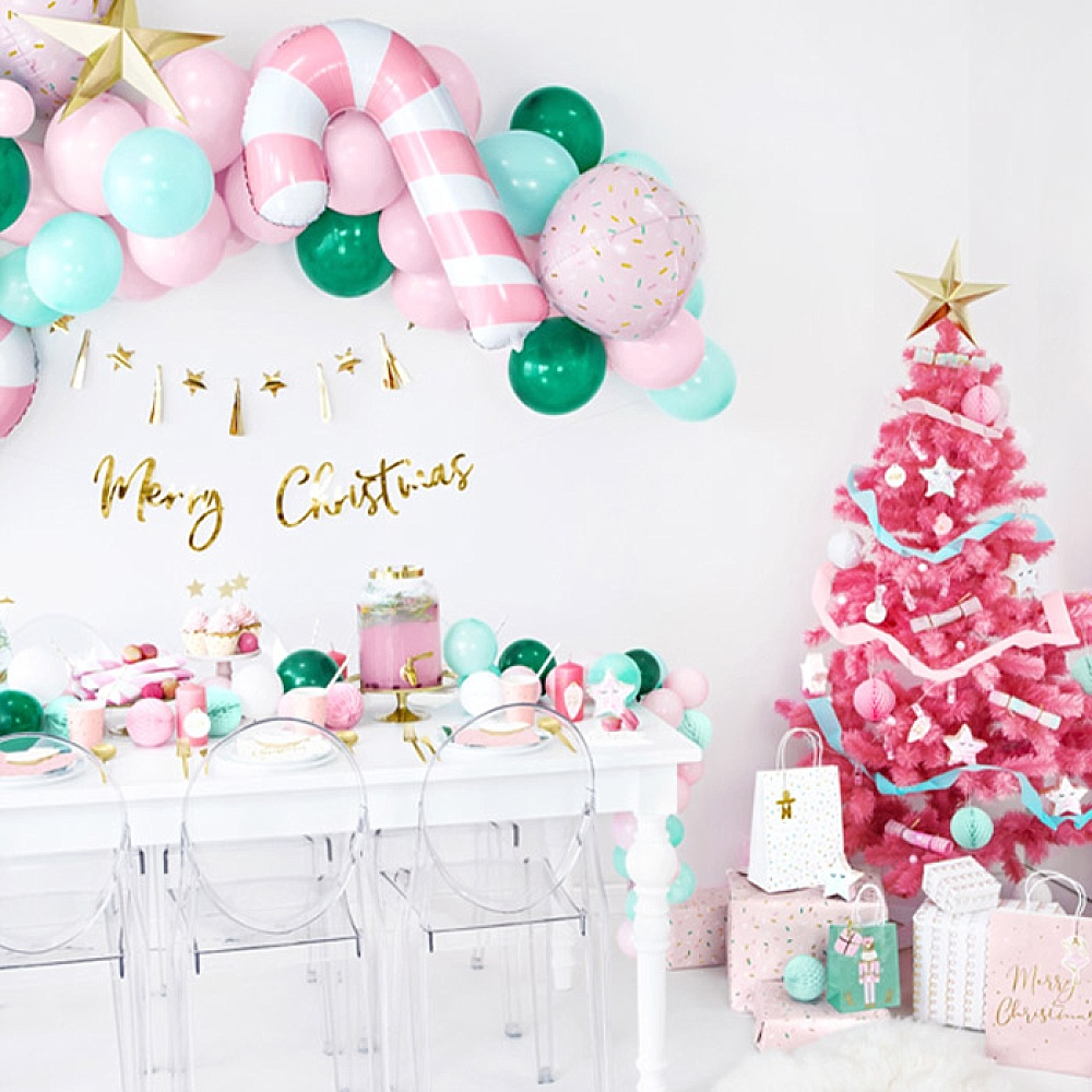 Pink Christmas collectie, Partydeco.nl