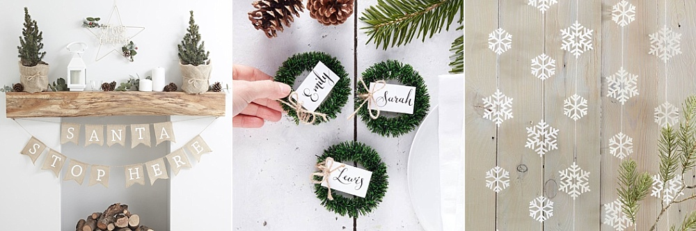Rustic Christmas collectie, Partydeco.nl